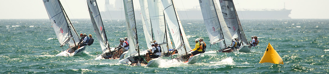 Vipers head upwind at the North Americans in Long Beach 2014