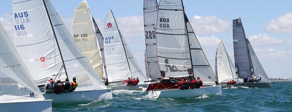 ORCV Melbourne to Launceston/Hobart Yacht Races 2013