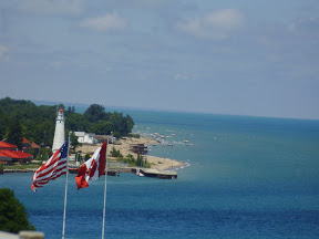Sailing in Sarnia - scouting for the 2011 NAs
