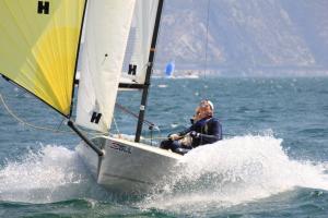 K6 sailing at Lake Garda