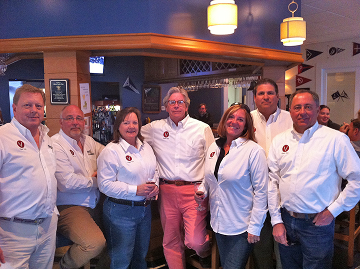 GYA Viper Team: Dan Tucker, Paul Young, Tracey Faircloth, Buttons Padin, Deb & Craig Wilusz, Don Faircloth