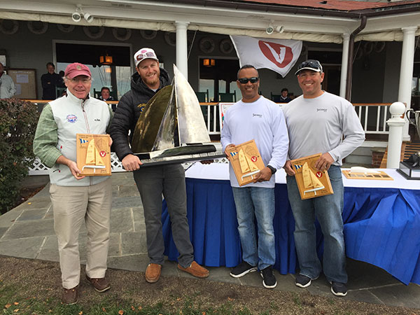 LYC Cdre Tim Porter, Luke Lawrence, Curtis Florence, Brad Boston-First-2015 Viper North Americans