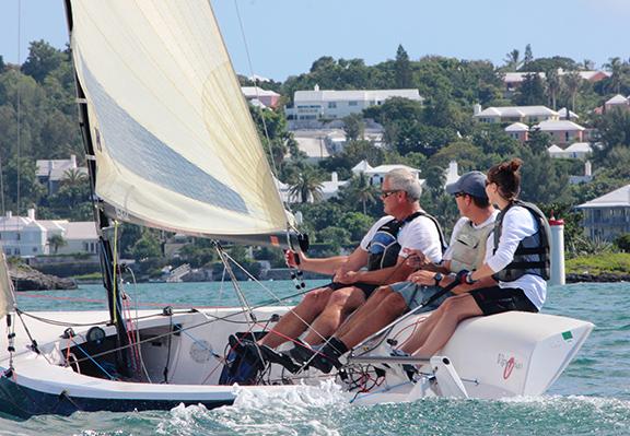 Viper sailing in Bermuda - 72 dpi