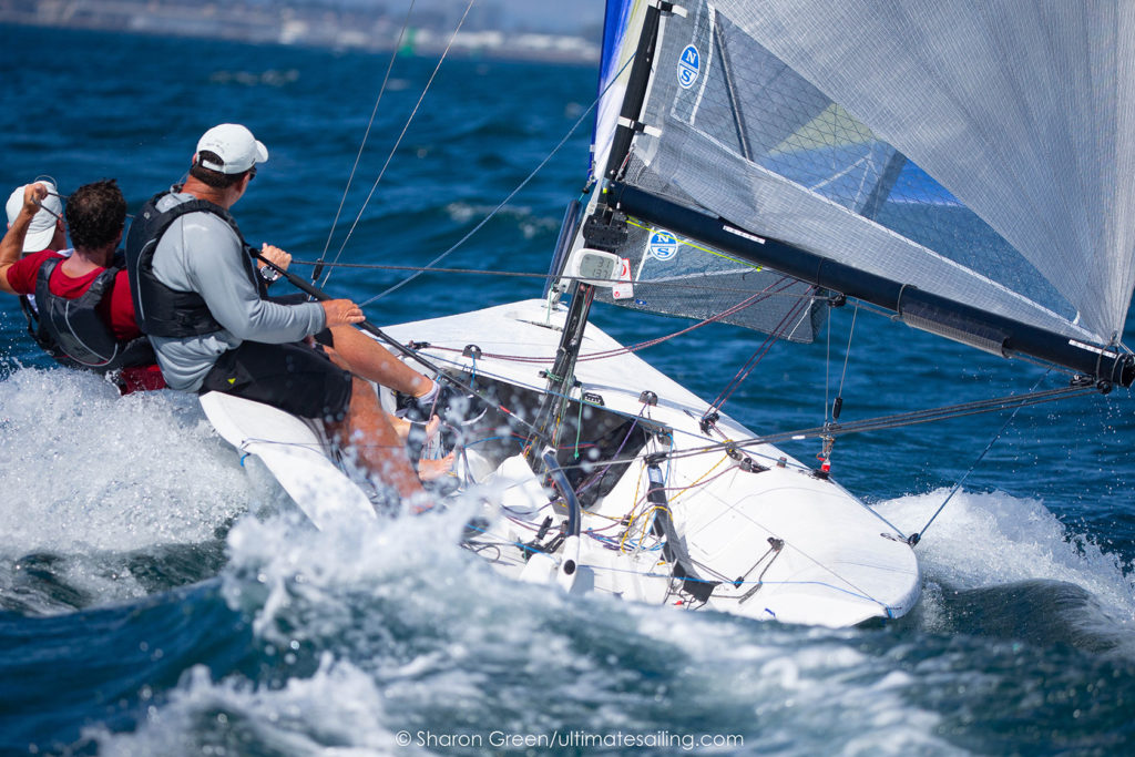 Planing Downwind at the 2019 Worlds