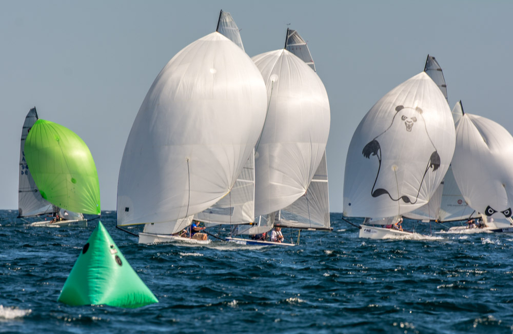 Vipers Racing in the New England Championships off Marblehead